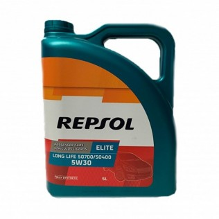REPSOL ELITE  LONG LIFE 50700/50400  LL 5w30 (5л) син.