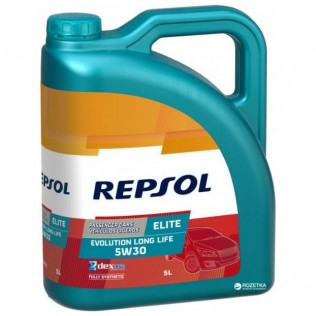 REPSOL ELITE EVOLUTION LONG LIFE Dexos2 C3  5w30 (5л) син.
