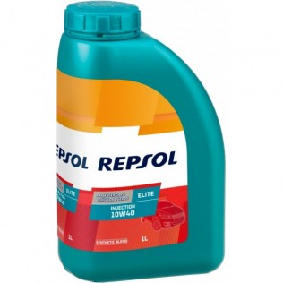 REPSOL ELITE INJECTION SLCF 10w40 (1л) П/син.