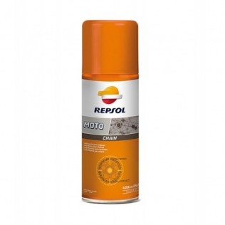 4-x Repsol МOTO CHAIN (400ml) смазка цепи аэрозоль