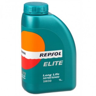 REPSOL ELITE  LONG LIFE 50700/50400  LL 5w30 (1л) син.