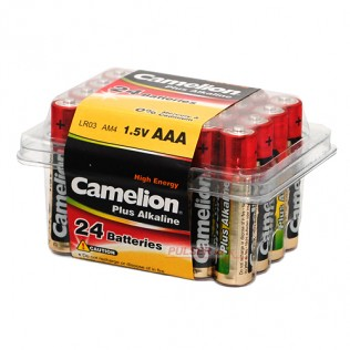 AAA: LR03-BC24 ALKALINE PLUS 1,5V CAMELION /24